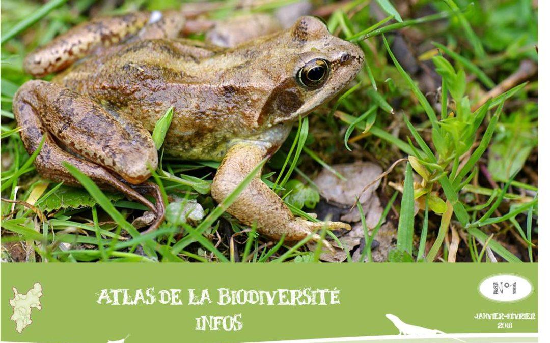 Atlas de la biodiversité infos