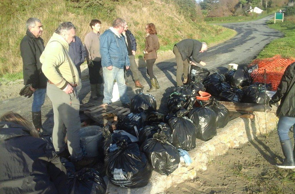 Nettoyage des plages – L'opération du mois de décembre