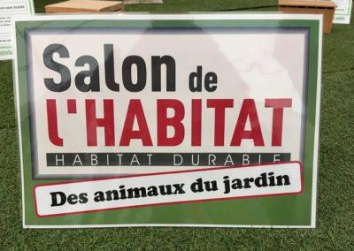 Affichage Salon de l'Habitat