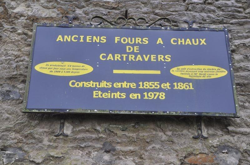 Retour en images sur la sortie de découverte du site de Cartravers
