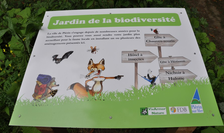 Jardin de la biodiversité des Rosaires