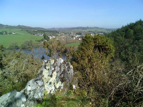 Les étangs de Saint-Gilles et la vallée de Poulancre