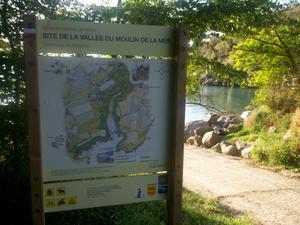 La vallée du Moulin de la mer à Matignon