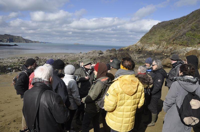 Retour en images sur la 79ème sortie du Groupe «Patrimoine Géologique 22» à Saint-Quay Portrieux