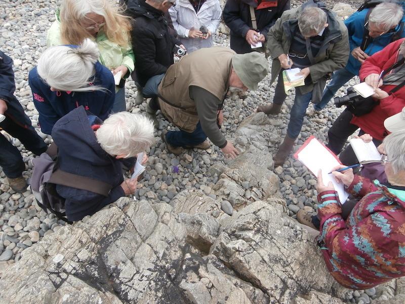 Retour en images sur la 81ème sortie du Groupe «Patrimoine Géologique 22» entre Le Palus, Gwin-Zégal, Pors Moguer et la plage Bonaparte