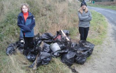 Bilan collecte des déchets de la plage de Saint-Maurice
