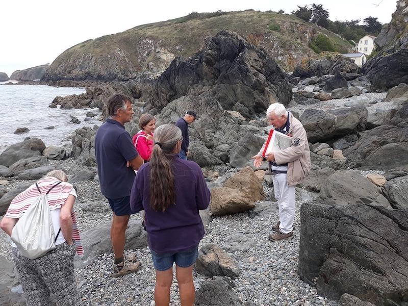 Les formations géologiques de la côte Est de la Baie de Saint-Brieuc