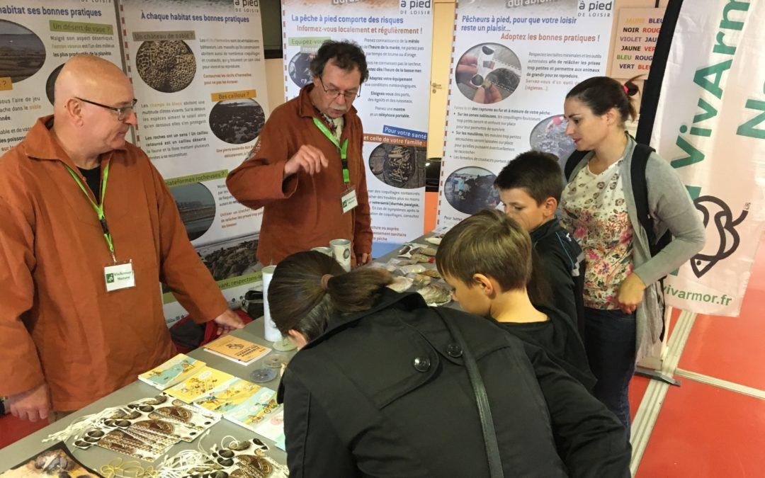 450 visiteurs sur le stand de VivArmor Nature à la Fête de la Science