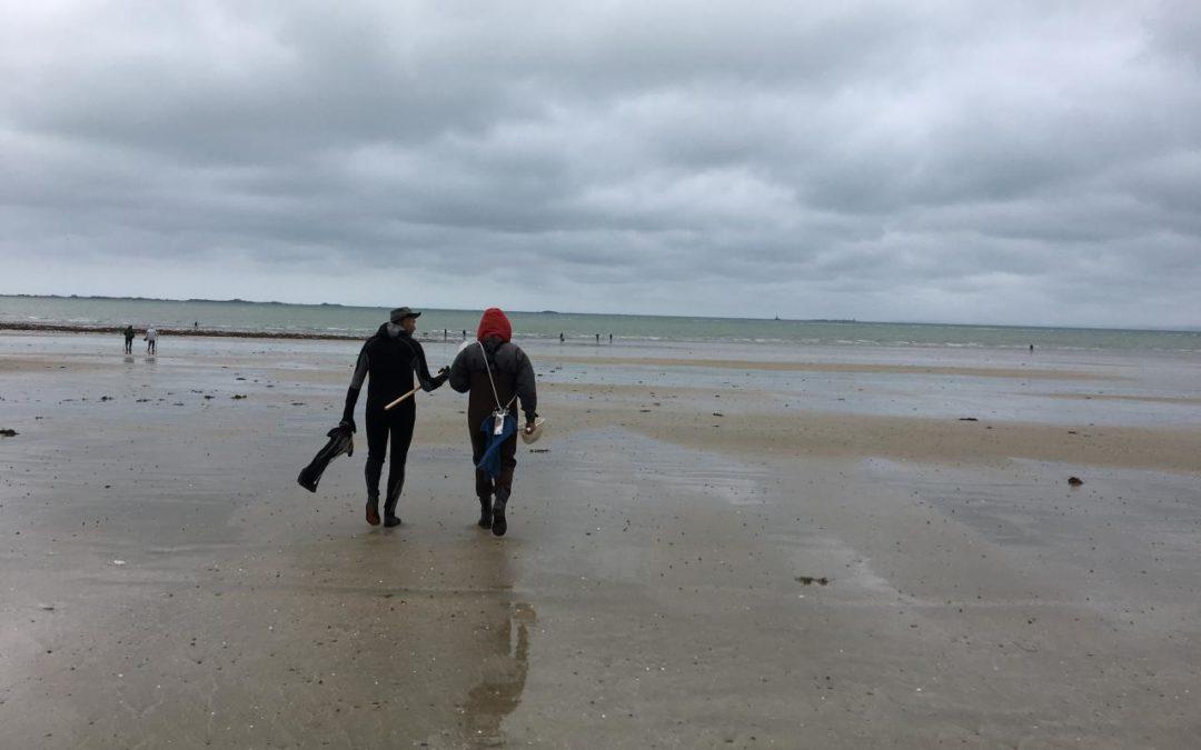 152 pêcheurs à pied sensibilisés lors des grandes marées du 28 au 30 octobre 2019