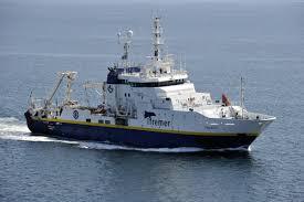 A bord du N/O Thalassa en mer du Nord pour l'IBTS 2020