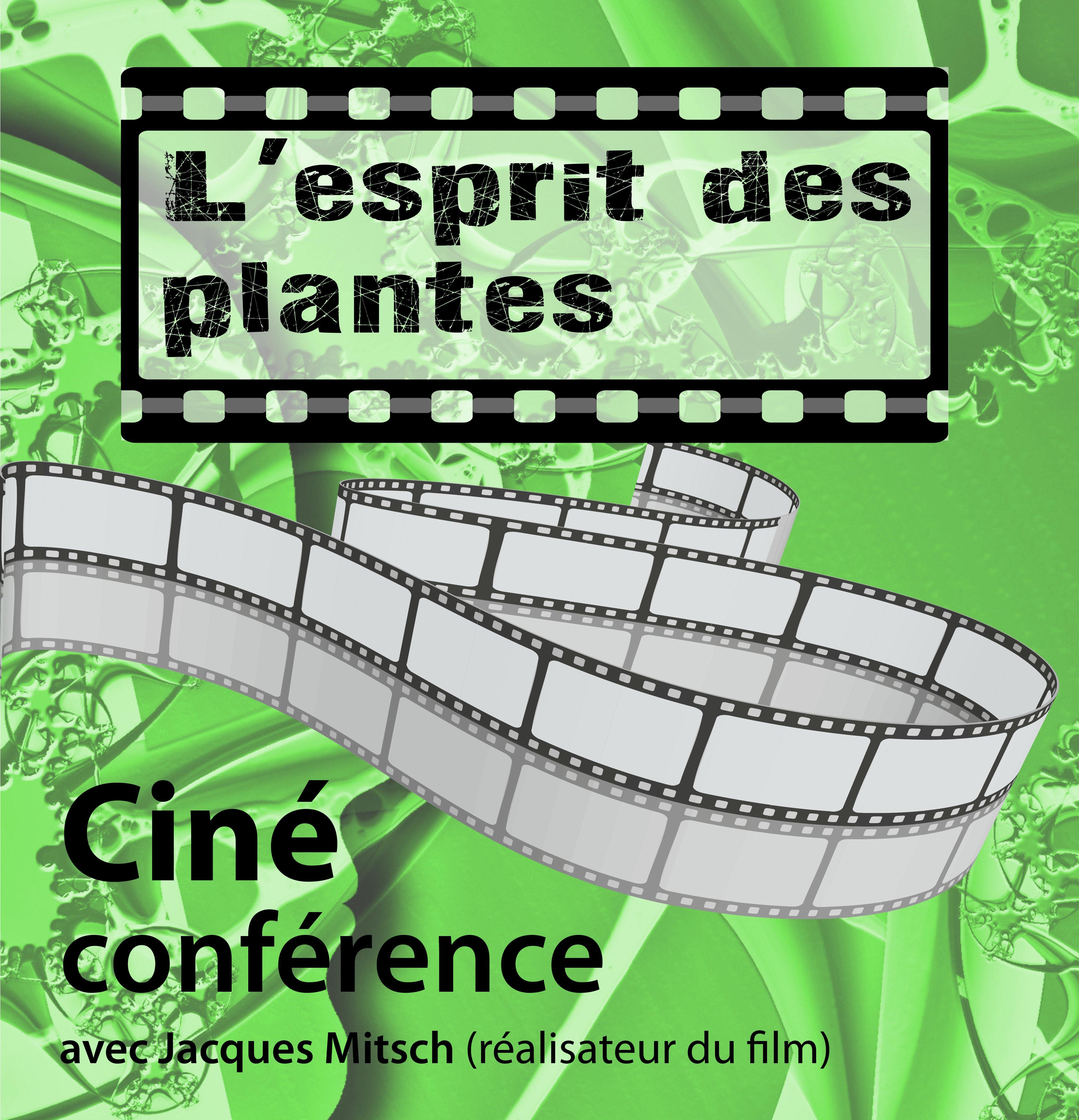 """Soirée ciné - conférence """"L'esprit des plantes"""""""