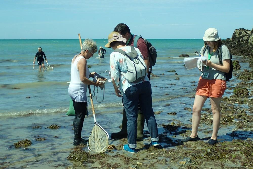191 pêcheurs à pied sensibilisés lors des grandes marées du 22 au 24 juillet 2020