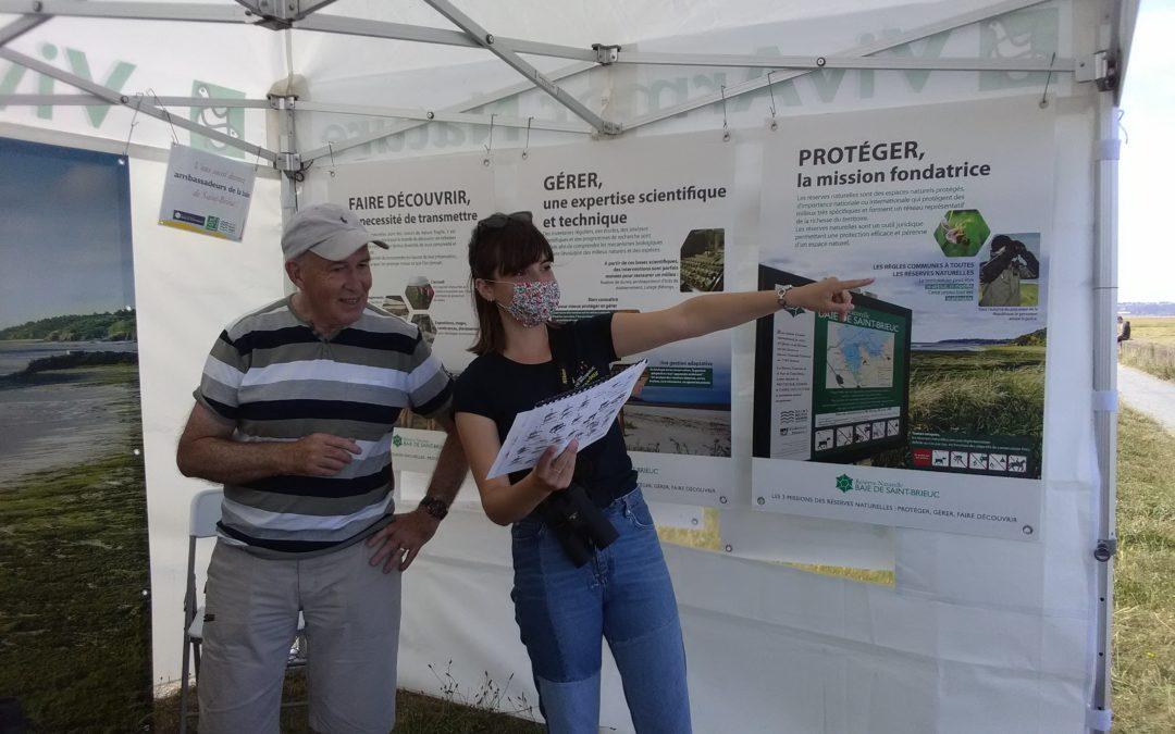 Ambassadeurs de la baie de Saint-Brieuc : 790 personnes sensibilisées !
