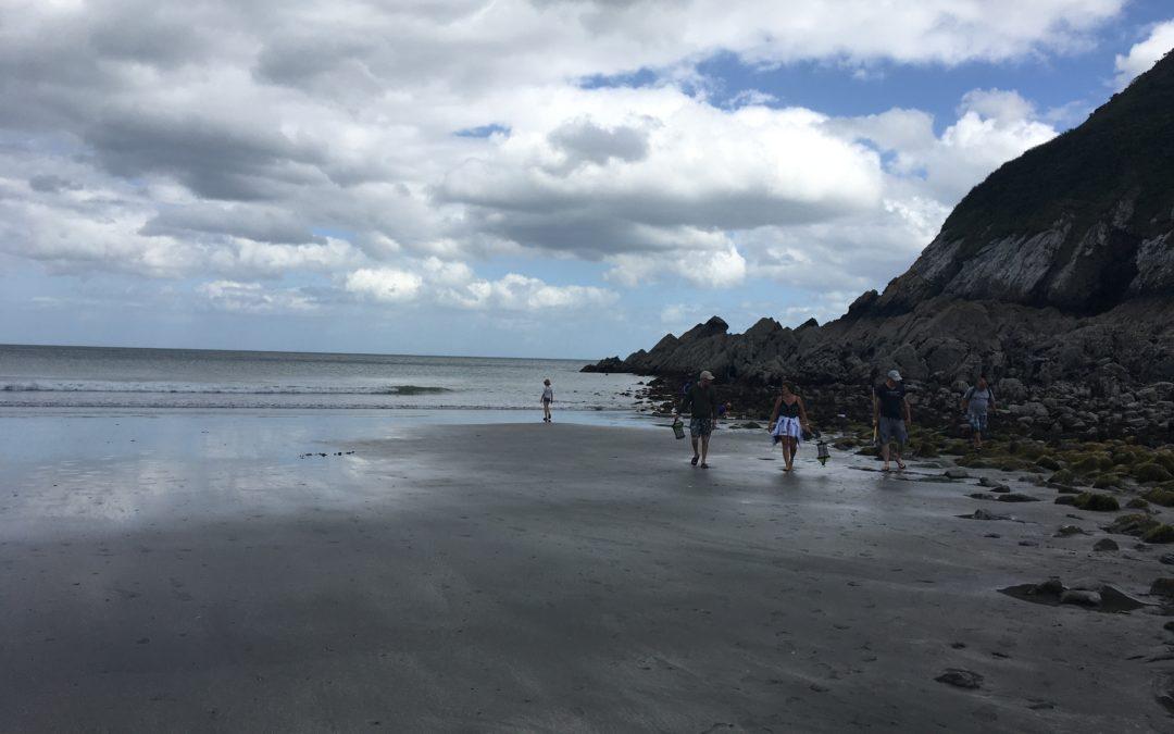 8200 pêcheurs à pied comptés le 21 août 2020 dans les Côtes d'Armor