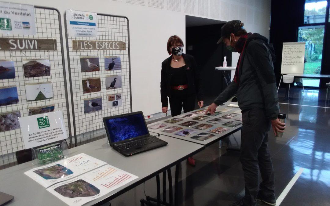 Village des sciences 2020 : VivArmor Nature y a animé 2 stands !