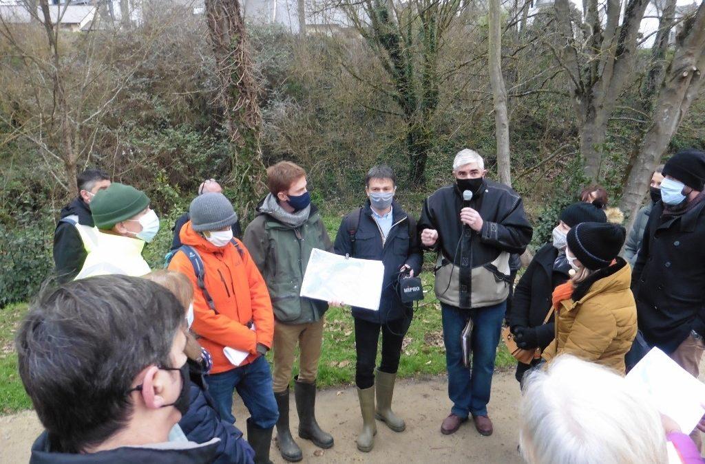 Point d'étape sur le projet d'aménagement de l'étang de Robien