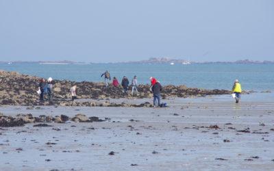 375 pêcheurs à pied sensibilisés lors des grandes marées du 28 février au 2 mars 2021
