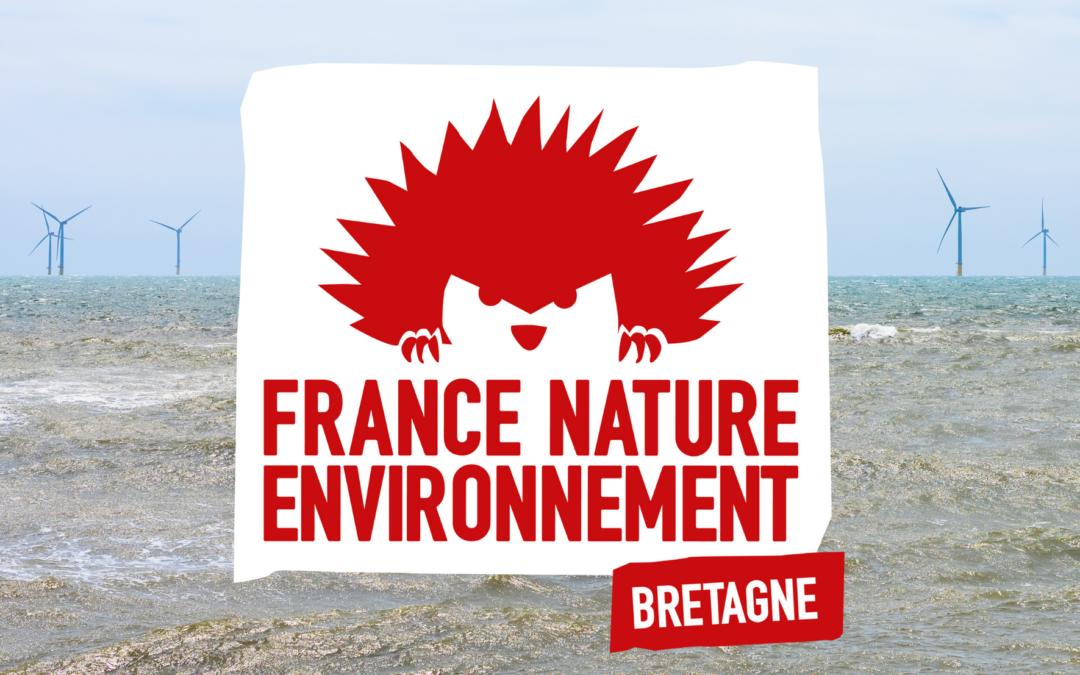 Parc éolien en baie de St-Brieuc : FNE-Bretagne réaffirme la nécessité d'une transition énergétique concertée