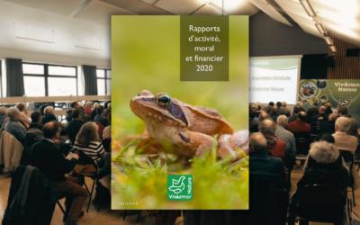 Les résultats de l'Assemblée Générale et le rapport d'activité 2020 sont disponibles !