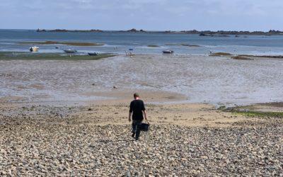 2800 pêcheurs à pied comptés le 23 août 2021 dans les Côtes d'Armor