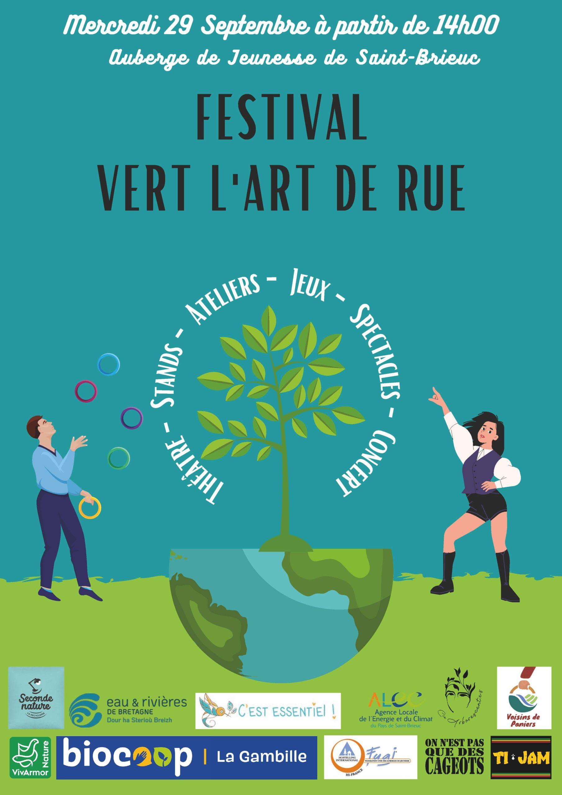 """Festival """"Vert l'art de rue"""""""