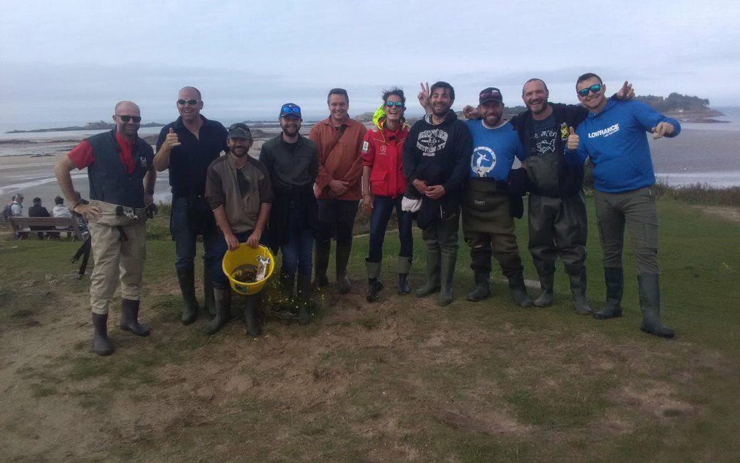 Formation de futurs guides de pêche